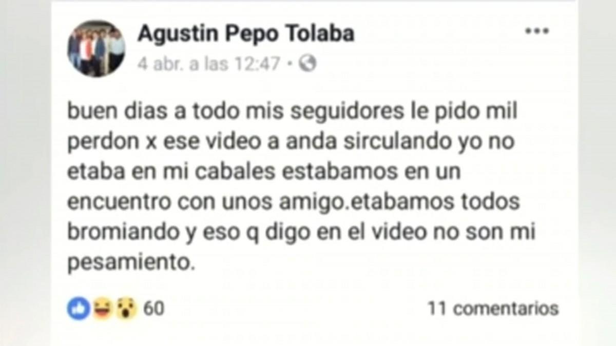 """Tucumán: candidato a concejal prometía """"seguir robando"""" y """"que siga la droga"""""""