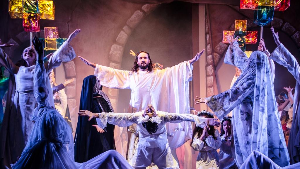 Arcano de Viernes Santo se volverá a poner en escena el próximo 19 de abril en la Plaza 9 de Julio de Posadas