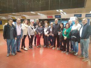 20 afiliados del IPS partieron en avión hacia Bariloche con el Programa de Turismo Social