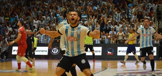 Argentina hizo historia en Misiones: venció a Brasil en tiempo suplementario y se coronó campeón del #MundialFutsal