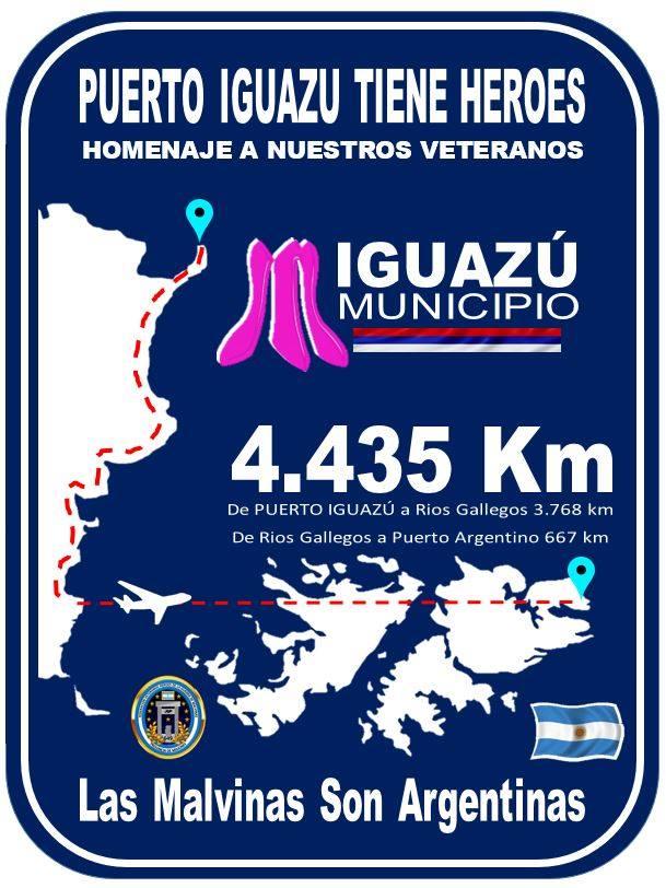 Hoy comienzan las actividades por el Día del Veterano y de los Caídos en la Guerra de Malvinas: conocé la agenda de diferentes localidades misioneras
