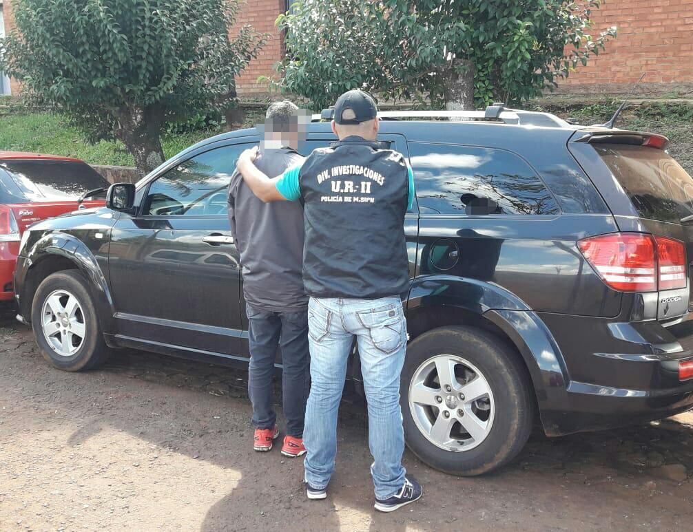 La policía recuperó una camioneta robada en Buenos Aires y detuvo a un hombre en Oberá