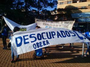 #30A: en Oberá, los manifestantes levantaron el corte de ruta 14 frente a la terminal