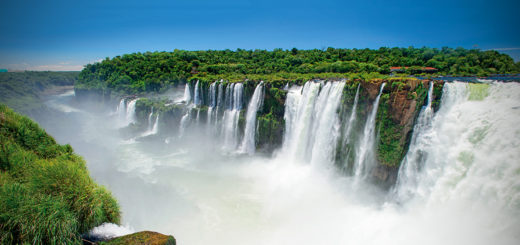 Histórico: las Cataratas del Iguazú brillarán en la televisión de Estados Unidos