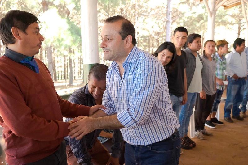 """El Vicegobernador Oscar Herrera Ahuad destacó la """"confianza en la Familia del Agro Misionero"""""""