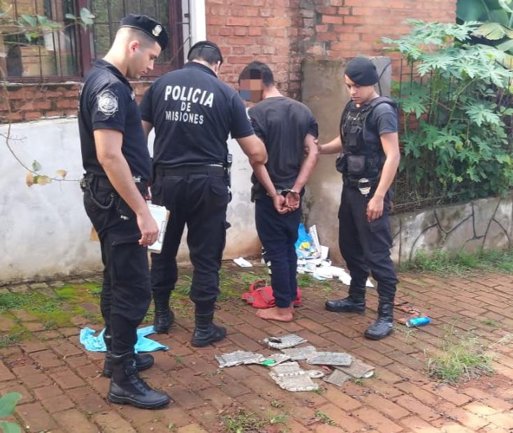"""Eldorado: policías detuvieron a un """"ladrón de tumbas"""""""