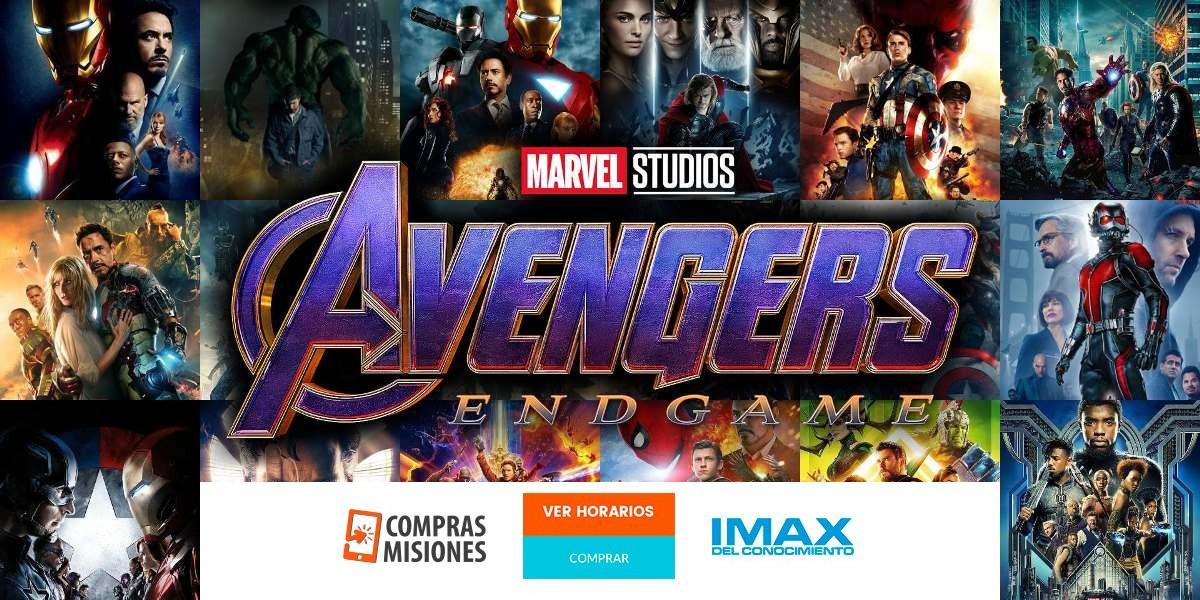 Para fanáticos: Se viene la avant premier de Avengers: Endgame en el IMAX…Ingresá aquí y adquirí las entradas por Internet…Se agotan