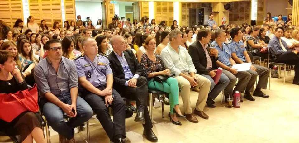 Arce participó en la apertura del Congreso Internacional de Adicciones