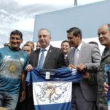 Passalacqua y Herrera Ahuad junto al ministro de Educación de la Nación inauguraron la EPET 34 en el barrio Itaembé Guazú de Posadas
