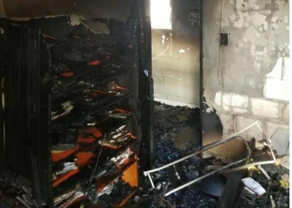 Una sobrecarga en el aire acondicionado generó un importante incendio en una vivienda de Posadas