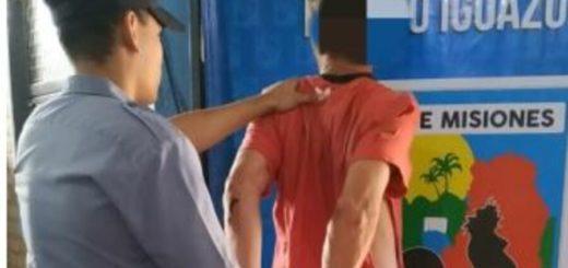 """Puerto Iguazú: capturaron a """"Tortu"""" implicado en al menos tres hechos de robo calificado"""