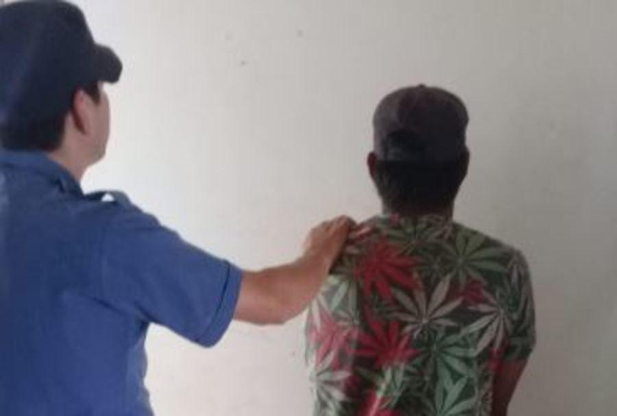 """San Pedro: policías atraparon """"infraganti"""" a un joven talando árboles en una propiedad privada"""