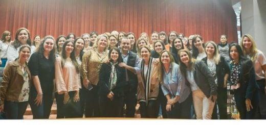 #Elecciones2019: Oscar Herrea Ahuad mantuvo una charla con las candidatas del Frente Renovador