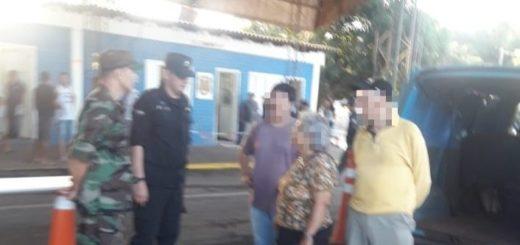 La Policía de Misiones asistió a argentinos que fueron tomados de rehén durante un robo en un banco en Brasil