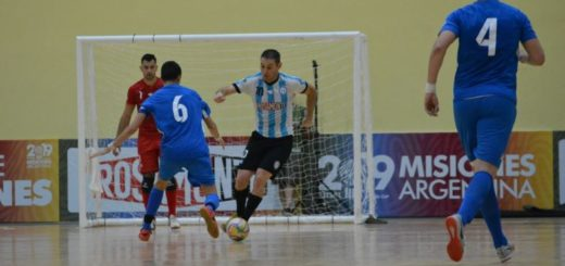 #MundialFutsal: Argentina vapuleó 7-1 a Italia y clasificó a cuartos de final
