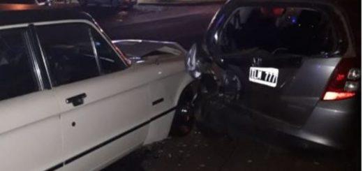Posadas: manejaba con 2,51 gramos de alcohol en sangre y chocó contra un auto estacionado