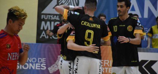 #MundialFutsal: Cataluña volvió a golear, ganó su grupo y ahora enfrentará a Sudáfrica en cuartos