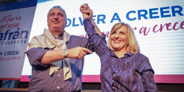 Passalacqua acompañó a María Eugenia Safrán en el lanzamiento de su candidatura a intendenta de Apóstoles
