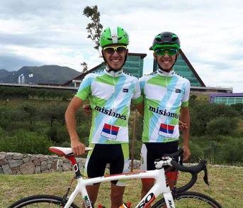 Ciclismo: dos gemelos serán los únicos representantes misioneros en el Campeonato Argentino de Ruta