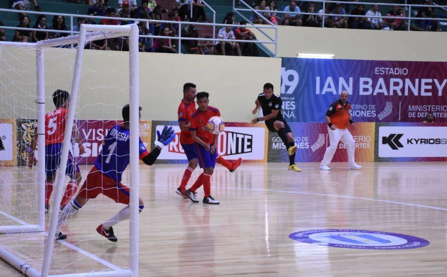 #MundialFutsal: Paraguay se quedó con el duelo sudamericano frente a Uruguay