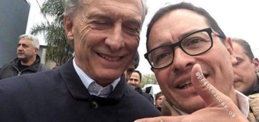 Un hincha de River se burló de Mauricio Macri por la final de la Copa Libertadores en Madrid