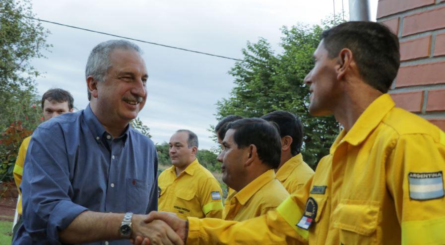 Passalacqua inauguró dependencias del plan provincial de manejo del fuego en Apóstoles