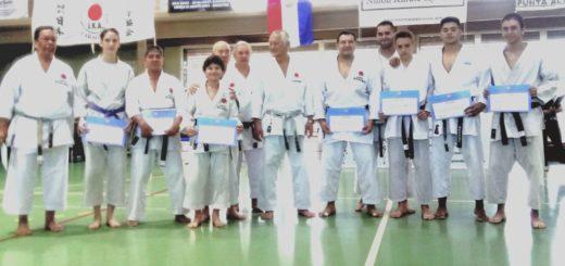 Misiones presente en el Seminario Internacional de Karate JKA 2019