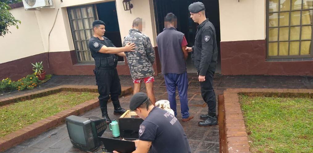Oberá: detuvieron a «Chori» y recuperaronelementos robados