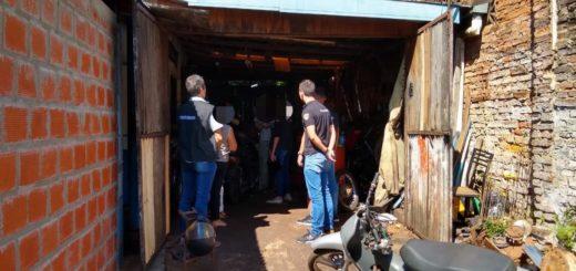 Posadas: en un trabajo investigativo de la Dirección Cibercrimen, desbarataron un taller que comercializaba motos robadas
