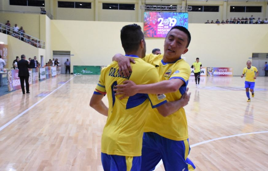 #MundialFutsal: Colombia logró un sufrido triunfo contra Marruecos