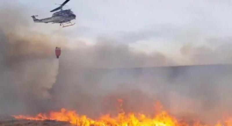 Incendio forestal provocó un apagón San Martín de Los Andes, en Bariloche y Villa La Angostura