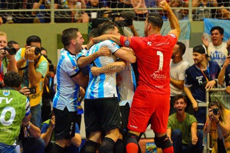 Diego Maradona felicitó a la Selección argentina por ganar el #MundialDeFutsal