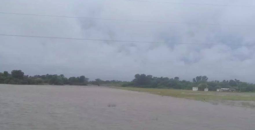 Chaco: cientos de evacuados por un temporal que afectó el sudoeste de la provincia