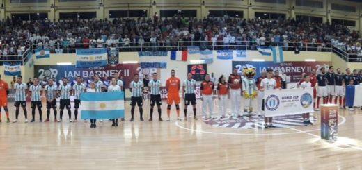 #MundialFutsalEnVivo: Argentina golea a Francia y pasa a semis