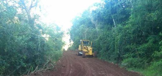 Vialidad Provincial continúa con obras en distintos barrios de Posadas y Capioví