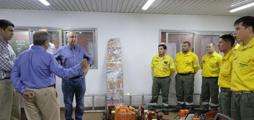 """Plan provincial del manejo del fuego: """"En Misiones estamos en condiciones de asistir cualquier situación que se produzca"""", afirman"""