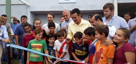 Oscar Herrera Ahuad inauguró el Polideportivo Municipal de San Pedro