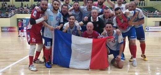 #MundialFutsal: Francia venció a Estados Unidos y sacó pasajes a cuartos de final