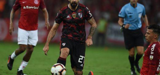 Copa Libertadores: River rescató un empate en Brasil frente a Inter de Porto Alegre