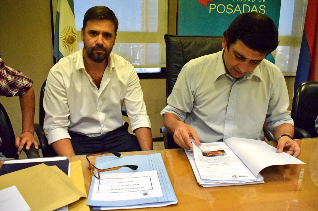 Abrieron los sobres de licitación para la compra de la planta de reciclaje de residuos en Posadas, una empresa santafesina fue la ganadora