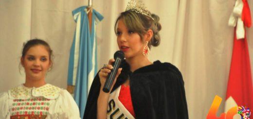 Fiesta del Inmigrante 2019: la Colectividad Suiza fue la primera en presentar a su nueva Reina