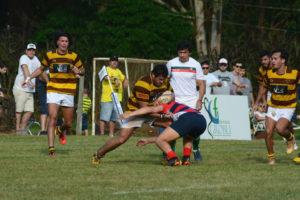 Rugby: Tacurú se quedó con el primer clásico del año ante Centro Cazadores