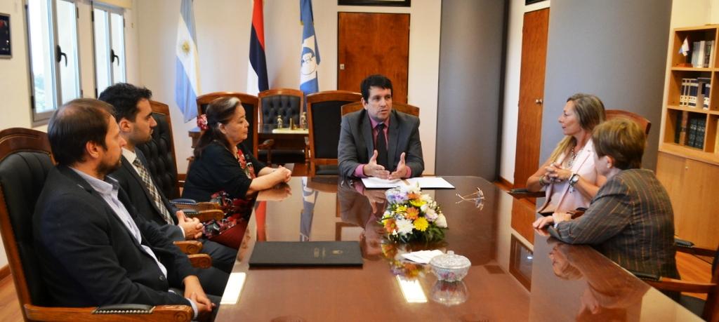 Se realizó la firma de un Convenio Marco entre el Poder Judicial de Misiones y el Servicio Público Provincial de Santa Fé