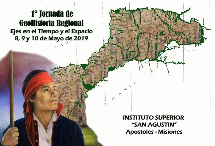 Hoy inició la jornada de Historia y Geografía organizada por el Instituto San Agustín de Apóstoles