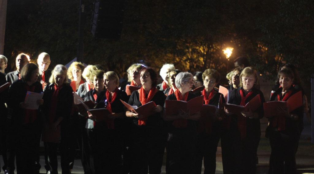 Posadas realizó la Vigilia para conmemorar el Día del Veterano y caídos por la Guerra de Malvinas