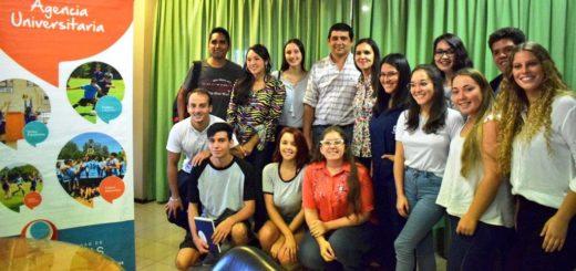 Posadas Ciudad Universitaria: Losada recibió a ingresantes de diferentes instituciones