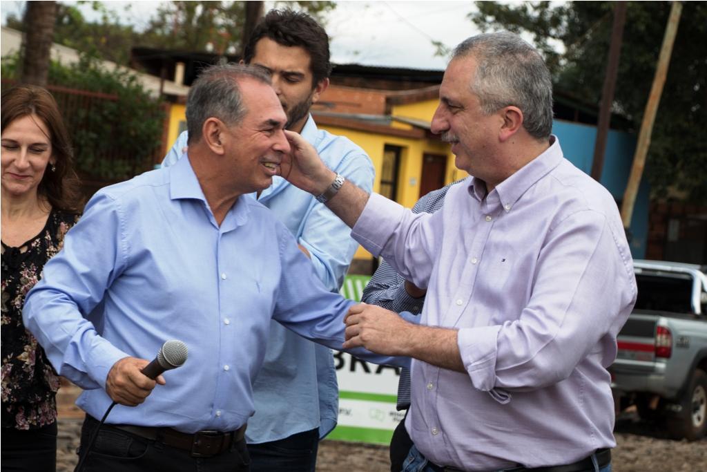 Passalacqua acompañó la oficialización de la candidatura de Stelatto a la intendencia de Posadas