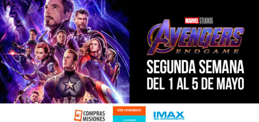 Avengers: Endgame en el IMAX del Conocimiento sigue batiendo récords de púbico…Apurate, ingresá aquí y adquirí las entradas para la semana próxima