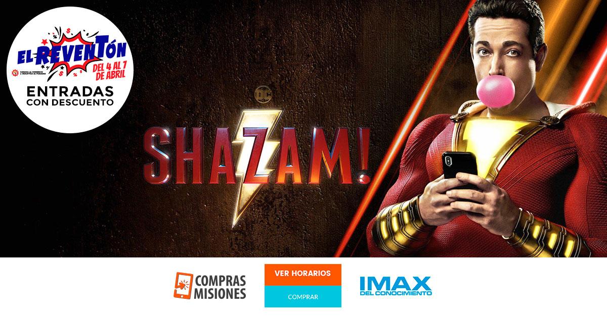 El IMAX se suma al Reventón con un espectacular estreno: Shazam!…Ingresá aquí y adquirí las entradas por Internet