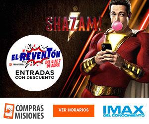 El IMAX se suma al Reventón con un espectacular estreno: Shazam!...Ingresá aquí y adquirí las entradas por Internet
